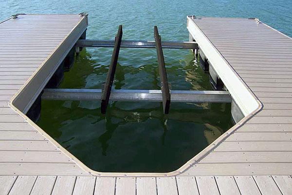 floating boat lift -d